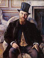 Portrait of Jules Dubois, 1885, caillebotte