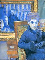 Portrait of Madame X..., 1878, caillebotte