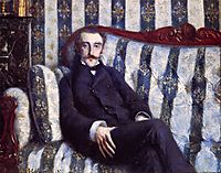 Portrait of a Man, 1877, caillebotte