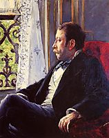 Portrait of a Man, 1880, caillebotte