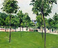 Promenade at Argenteuil, 1883, caillebotte