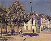 The Promenade at Argenteuil, 1883, caillebotte