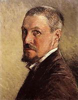 Self-Portrait, 1889, caillebotte