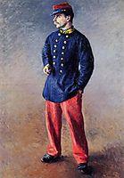 A Soldier, c.1881, caillebotte