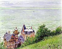 Villas at Trouville, 1884, caillebotte
