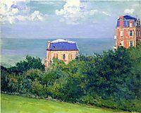 Villas at Villers sur Mer, 1880, caillebotte