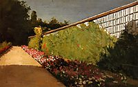 The Wall of the Kitchen Garden, Yerres, 1877, caillebotte