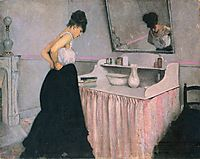 Woman at a Dressing Table, c.1873, caillebotte