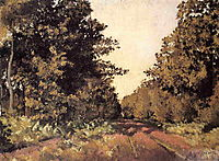 Woods at la Grange, c.1879, caillebotte