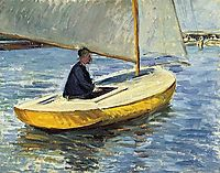 The Yellow Boat, 1891, caillebotte