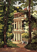 Yerres, Colonnade of the Casin, c.1870, caillebotte