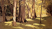 The Yerres, Effect of Ligh, c.1878, caillebotte