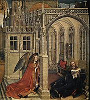 The Annunciation, 1430, campin