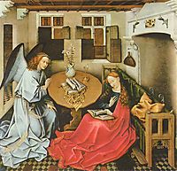 The Annunciation, c.1430, campin