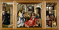 The Mérode Altarpiece, 1428, campin