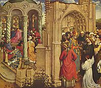 The Nuptials of the Virgin, 1420, campin