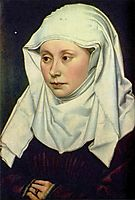 Portrait of a Woman, c.1430, campin