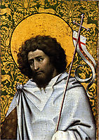 Saint John the Baptist, 1415, campin