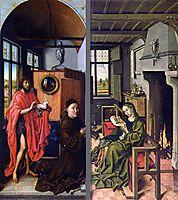 Werl Altarpiece, 1438, campin
