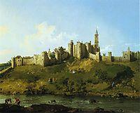 Alnwick Castle, 1747, canaletto