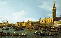 The Bucintoro, Venice, 1747, canaletto
