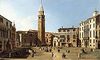 Campo Sant Angelo, canaletto