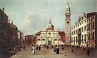 Campo Santa Maria Formosa, c.1735, canaletto