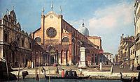 Campo Santi Giovanni e Paolo, 1741, canaletto