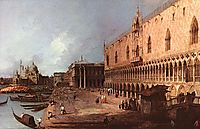 Doge-s Palace, 1725, canaletto