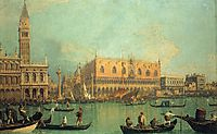 The Doge-s Palace with the Piazza di San Marco, 1735, canaletto