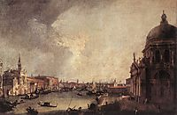 Entrance To The Grand Canal Looking East, 1725, canaletto