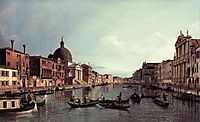 Grand Canal: Looking South West, c.1738, canaletto