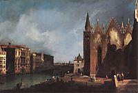 The Grand Canal near San Maria della Carità, 1726, canaletto