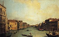 Grand Canal from the Palazzo Balbi, canaletto