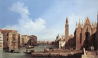 Grand Canal From Santa Maria Della Carita To The Bacino Di San Marco, c.1732, canaletto