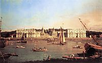 London: Greenwich Hospital from the North Bank of the Thames, c.1753, canaletto