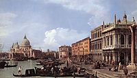 The Molo Looking West, 1730, canaletto