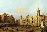 Northumberland House, 1752, canaletto