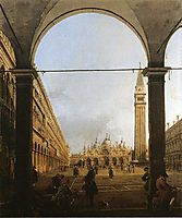 Piazza San Marco, Looking East, c.1760, canaletto