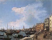 The Riva degli Schiavoni, c.1730, canaletto