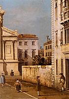 San Francesco della Vigna, Church And Campo, canaletto