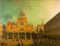 San Giacomo di Rialto, c.1727, canaletto