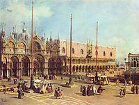 San Marco Square (Venice), c.1743, canaletto