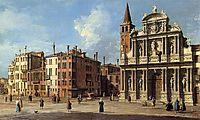Santa Maria Zobenigo, c.1765, canaletto