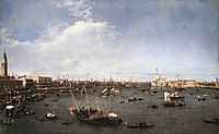 St. Mark-s Basin, 1738, canaletto