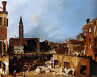Stonemason-s Yard, 1727, canaletto