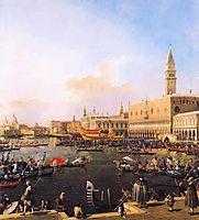 Venice, Bacino di San Marco on Ascension Day, 1754, canaletto