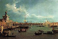 Venice: The Basin from the Giudecca, c.1740, canaletto