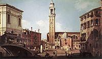 View of Campo Santi Apostoli, 1730, canaletto