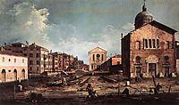 View of San Giuseppe di Castello, c.1745, canaletto